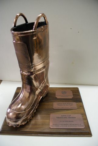 Firefighter's Boot - Bronzed